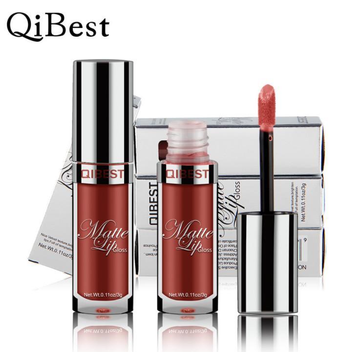 Lip Gloss 2018 Creative New Fashion i Scegli il rossetto liquido con pacchetto regalo pacchetto trucco le donne nuovo arrivo Bea064