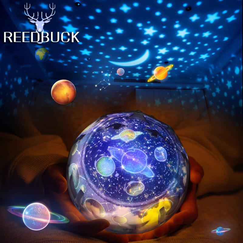 2018 Led Star Master Night Lights Starry Sky Magic Planet Projector ...