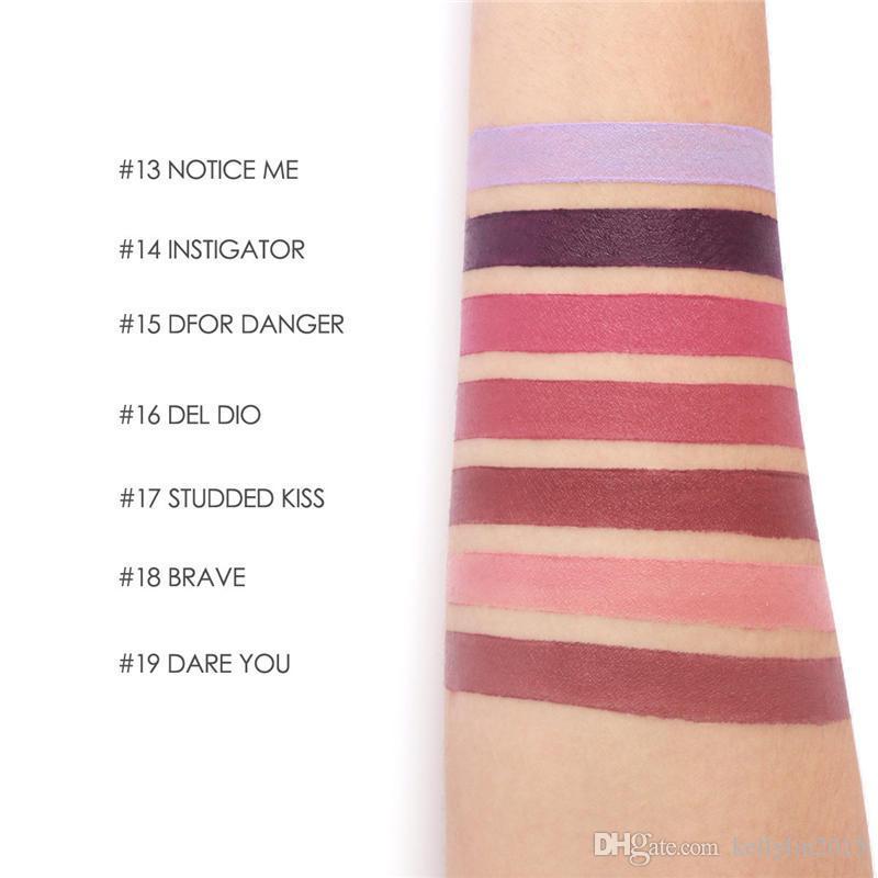 FOCALLURE Matte Lipstick Lips Crayon Velvet Texture Waterproof Long lasting Easy to Wear Cosmetic Nude Makeup Lipsticks Batom