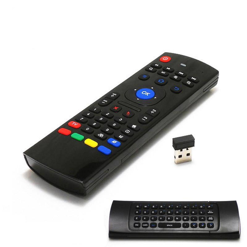 Air fly mouse MX3 with Backlit 2 4G Wireless Remote Controls TV box remote  contro FOR Android TV BoxS905X X96 T95X MXQ PRO