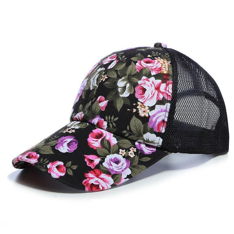 New Summer Golf Baseball Cap Trucker Mesh Curved Visor Hat Men Women ... ece4c4509b6a