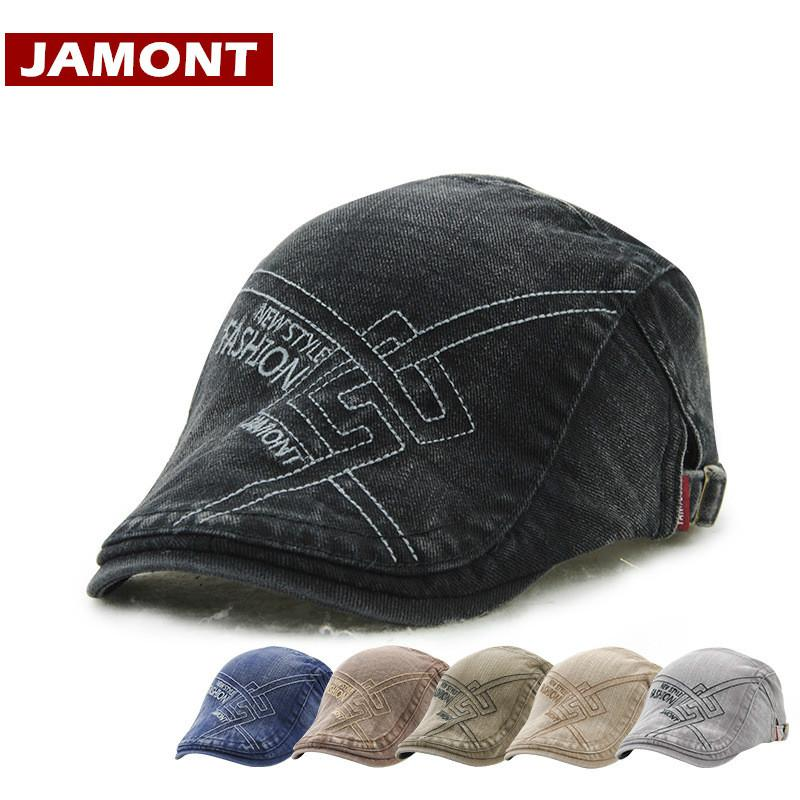 Acquista JAMONT New Fashion Cap Men Berets Hat Cotton Visiera Da Uomo  Cappellini Lettera Casual Painter Hat Casquette A  29.01 Dal Haroln  5b793bbd42c6