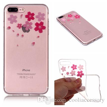 soft tpu case for iphone x 8 7 plus 6 6s i6 se 5s 5 5c ipod touch 6soft tpu case for iphone x 8 7 plus 6 6s i6 se 5s 5 5c ipod touch 6 cherry blossom rubber transparent tree rabbit skin cover fashion make your own cell