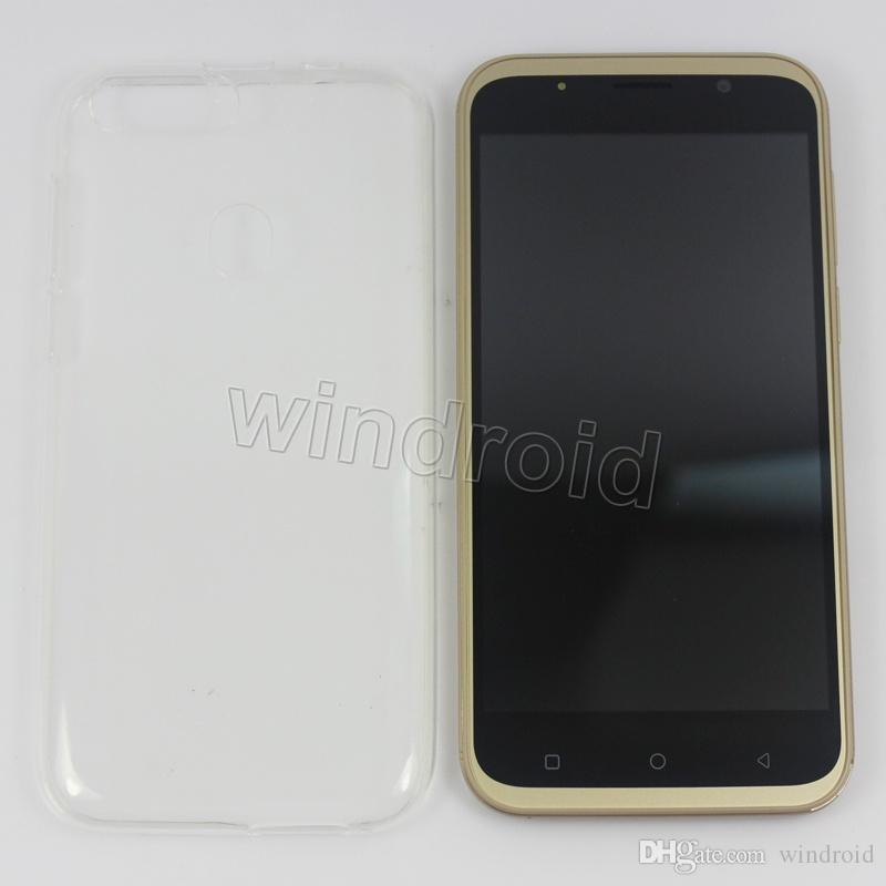 Cheapest 5 inch 3G Smart Cell phone Android 6.0 MTK6580 Quad Core 4GB Mobile Dual SIM Camera WCDMA Smart Wake Face Unlock R15 Smartphone