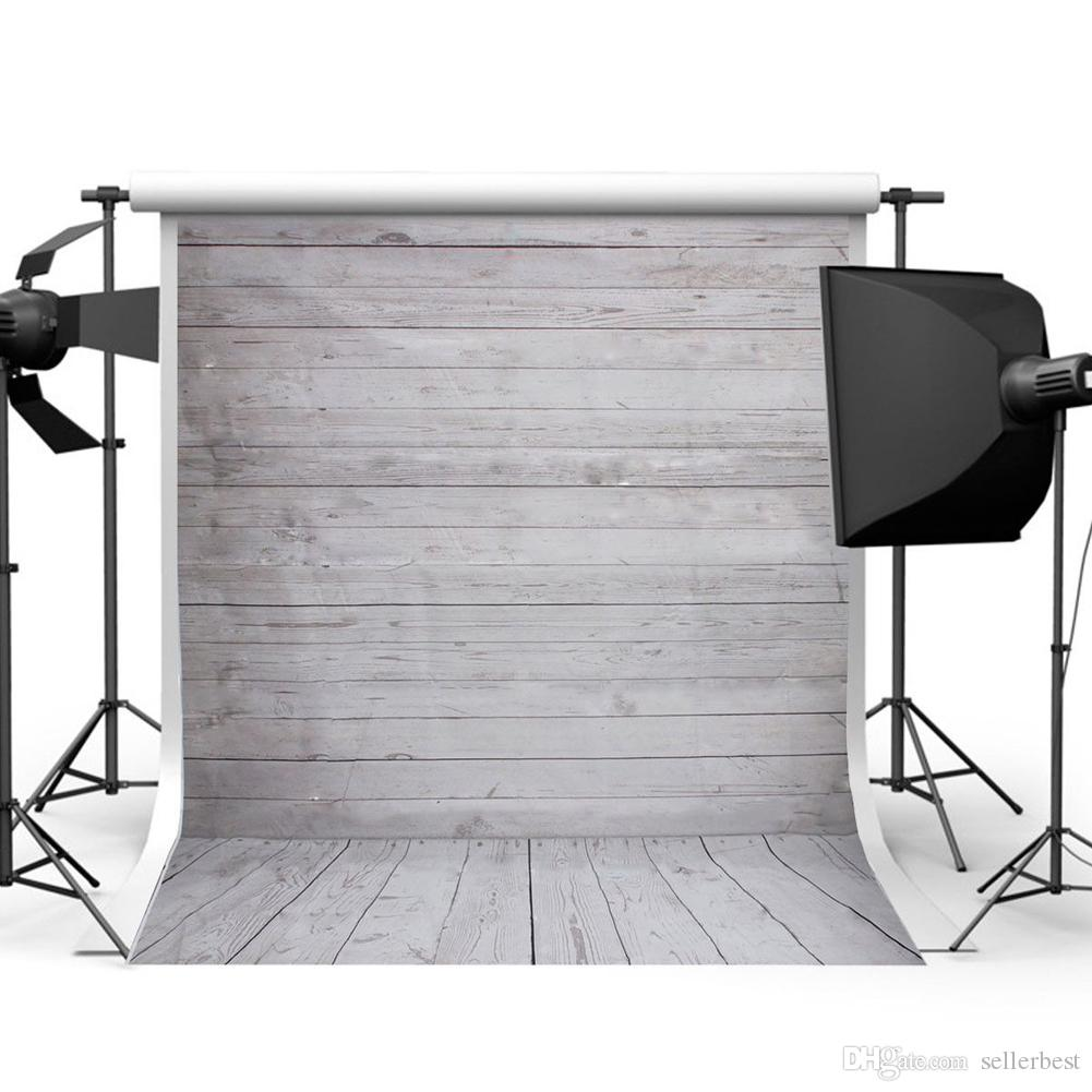 2017 3x5FT 5x7FT Retro Backdrops Wood Wall Floor Vinyl Photography Background Studio Photo Prop photographic Backdrop Cloth