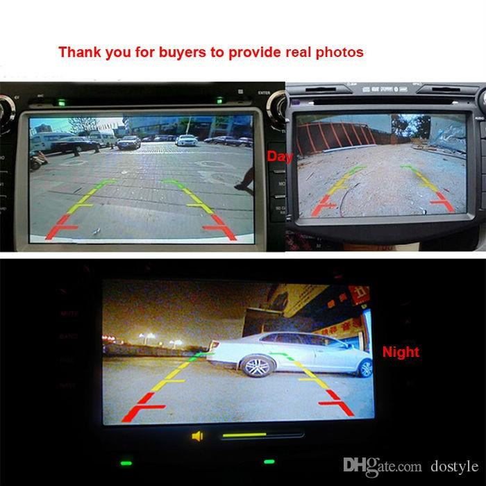 Universal Eincar car Rear View Reverse Backup Camera Night Vision Car Rear View Backup Parking Reverse Camera High Wide angle120-170degree