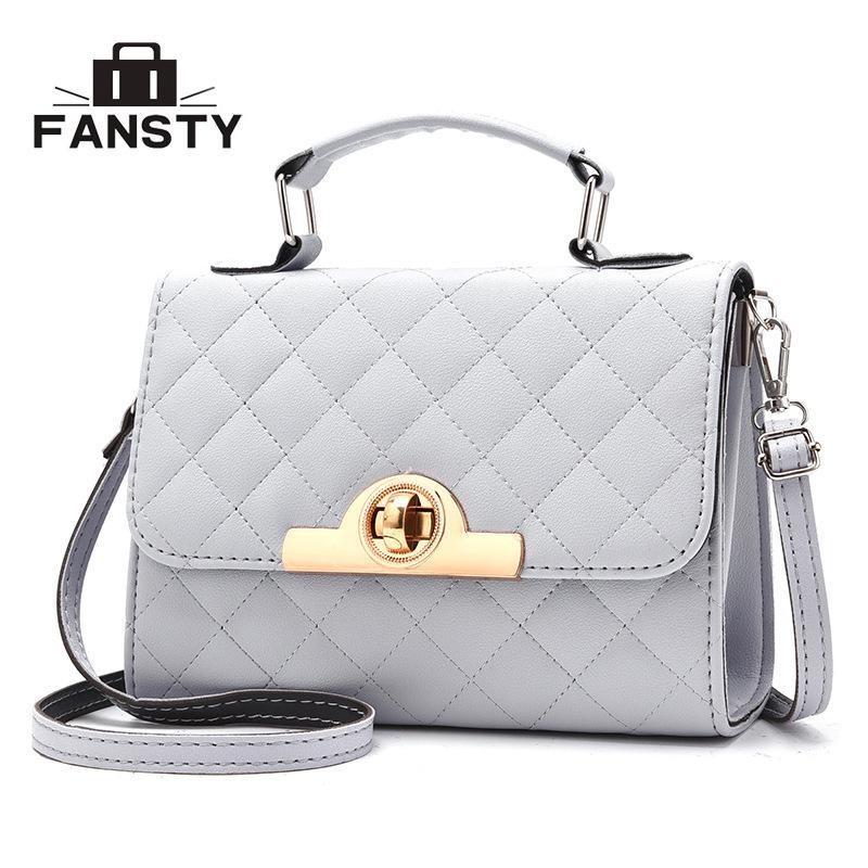 2018 Summer Solid Lady Small Messenger Bags Cute Flap Bag PU Leather Hasp  Simple Female New Crossbody Bags Brand Designer Women Designer Handbags  Crossbody ... a225b77aee56e
