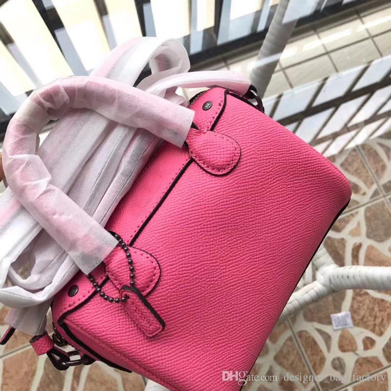 85534bda0c08 2018 New Arrival Luxury C Brand Bag Women Designer Handbags Genuine Leather  Mini Size Boston Bags Crossbody Messenger Single Shoulder Bag Womens  Handbags ...