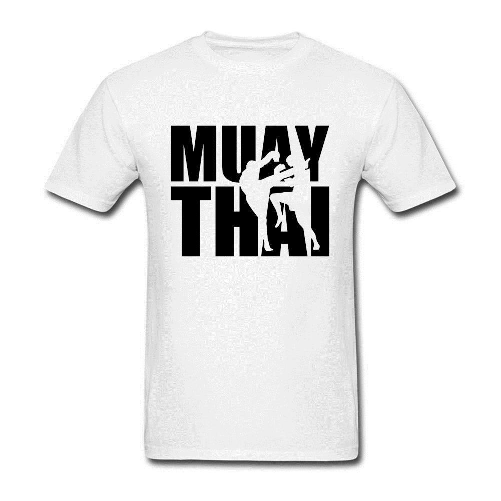 Free Shipping Men T Shirt Mens Muay Thai Sites Famous Fight tshirt Adult  Best Selling Tops