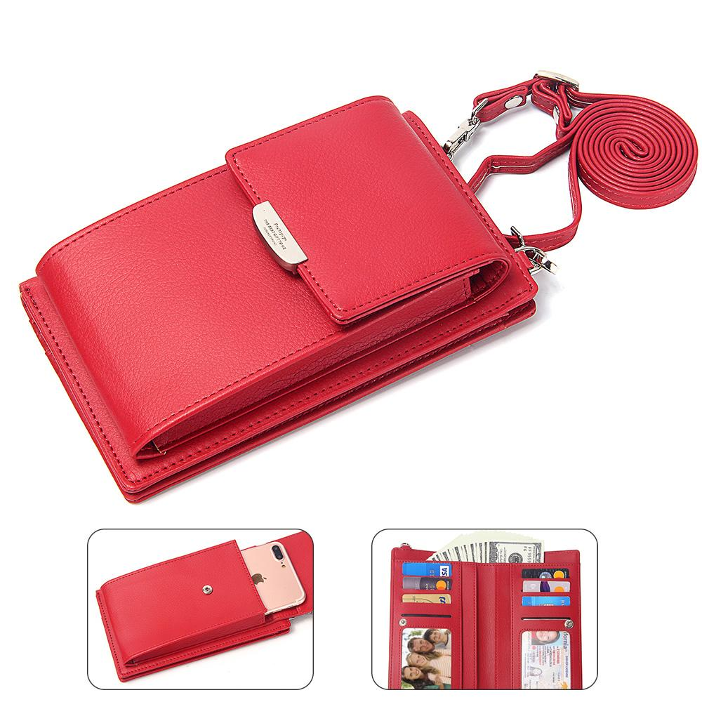 Fashion Women Wallets With Mobile Phone Bag Pu Leather Small Messenger Bags  Mini Strap Coin Pure Clutch Wallet Ladies Cowboy Wallets Girl Wallets From  ... aba37e5d126ab