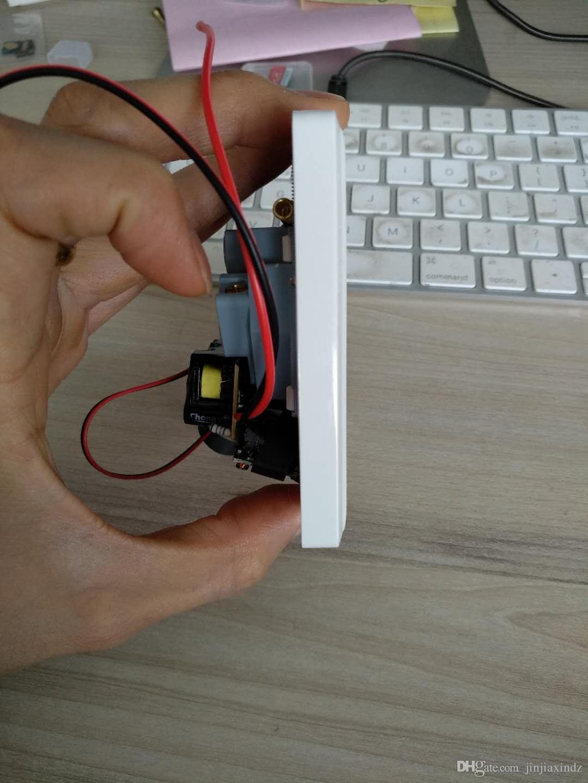 Presa a muro micro telecamera HD Presa mini fotocamera micro telefono Adattatore presa di corrente Wireless WIFI Monitoraggio remoto della rete Pinhole