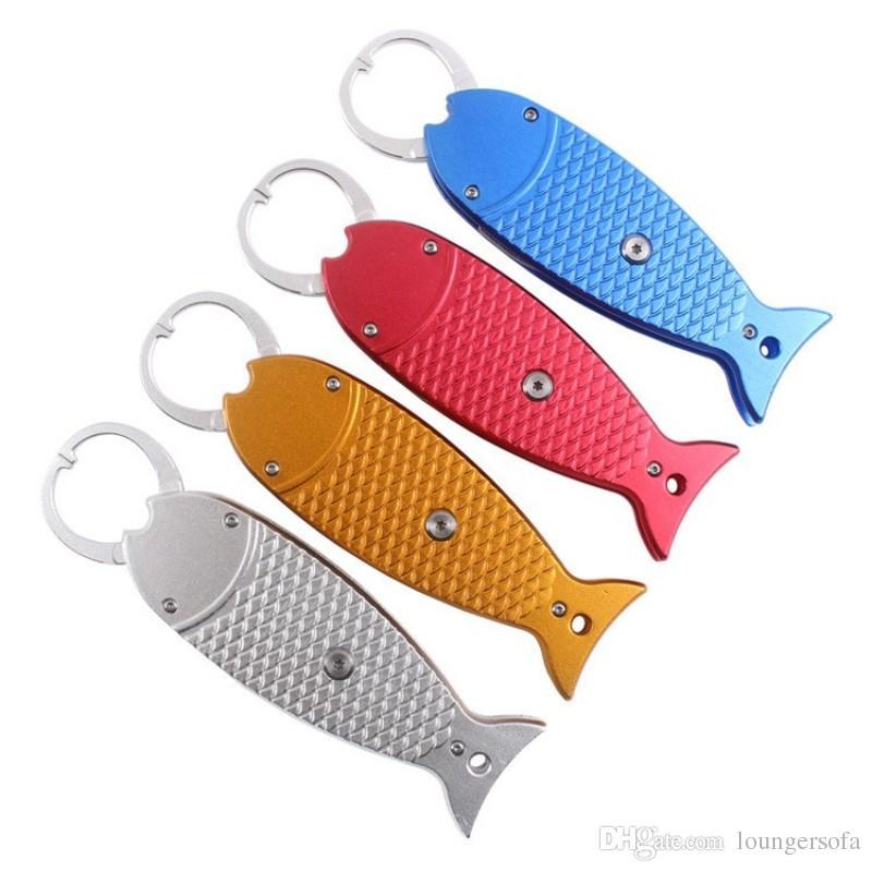 Alliage d'aluminium Fish Grip Liner Robuste Multi Couleurs Pince De Pêche Avec La Résistance À La Corde À L'automne Fishings Gripper Haute Qualité 25qy B