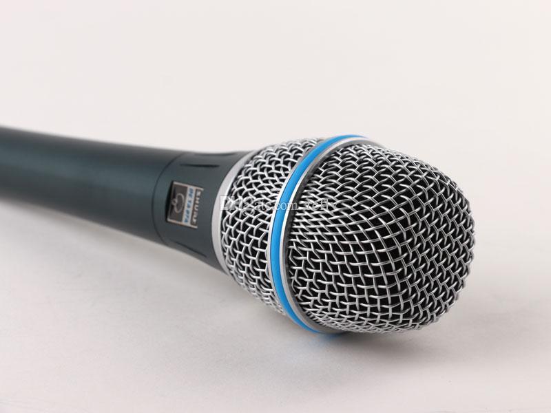 Microfono Profissional Beta87 Com Fio Microfone de Karaokê Vocal Dinâmico Handheld Para Beta 87C BETA87A BETA 87 Um Microfone Microfone