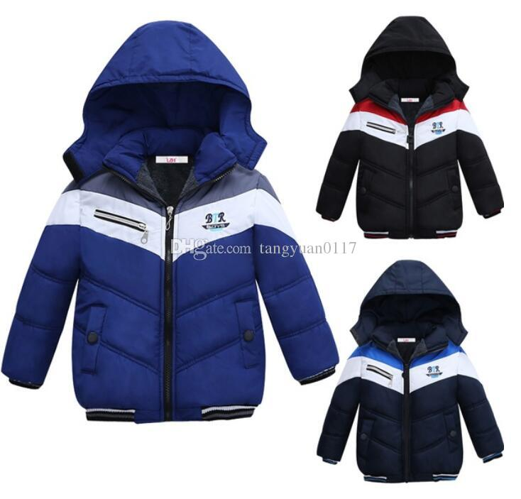 49ea27774 2018 Winter Jacket For Boys Parkas Children Outerwear Coat Hooded ...