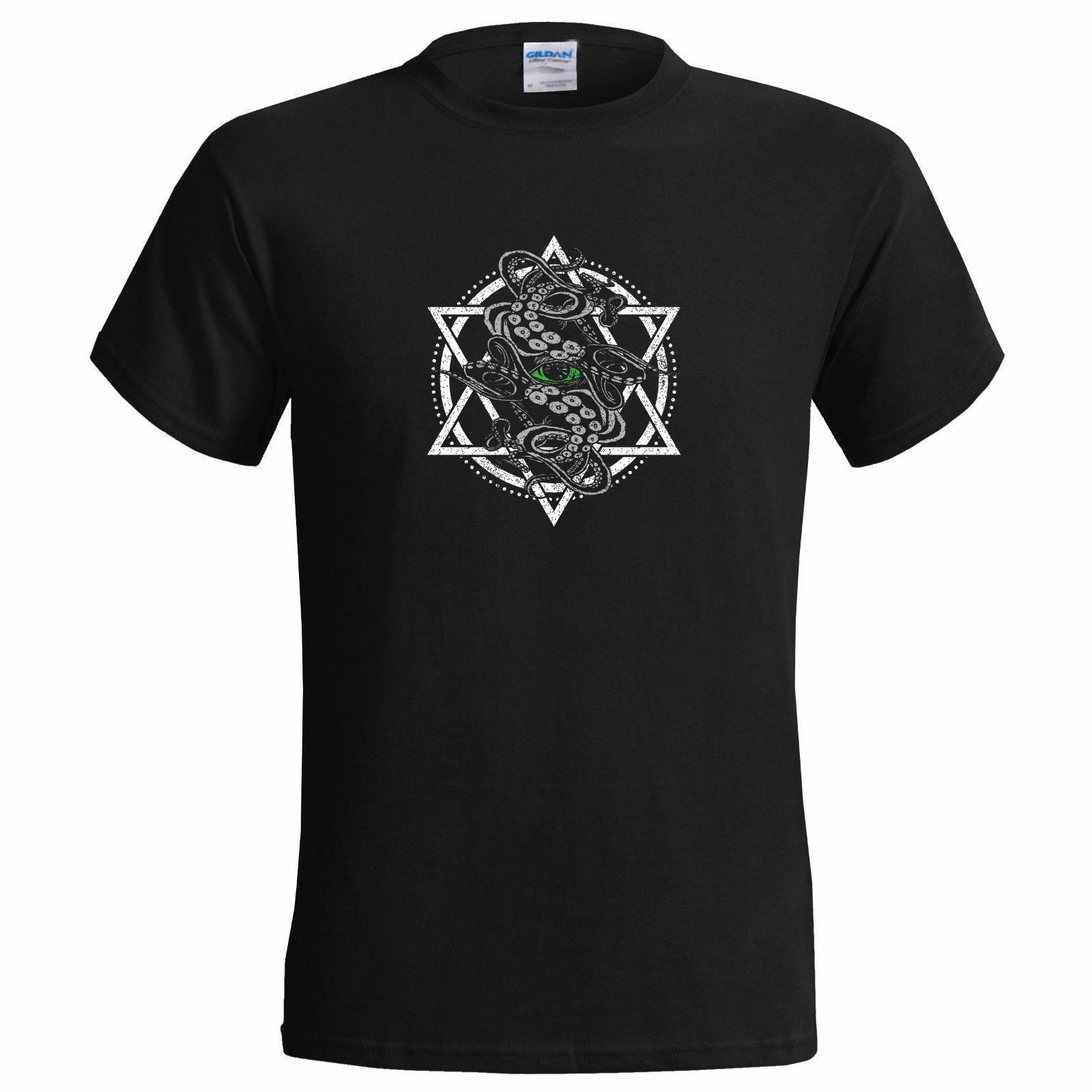 Cyaegha Pentagram Mens T Shirt Cyegha Tattoo Pagan Nihilism Cult