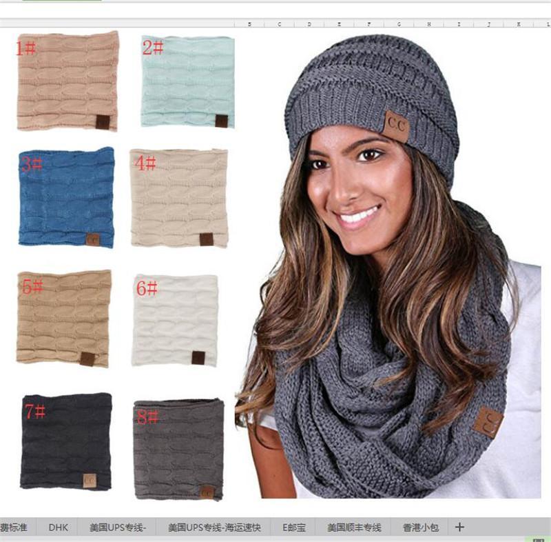 Großhandel Mode Winter Stricken Cc Schal Acryl Woolen Mädchen ...