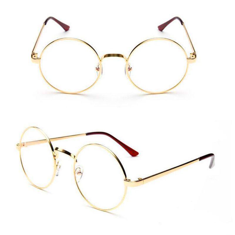 1c94f4d17fdd Unisex Clear Transparent Circle Round Glasses