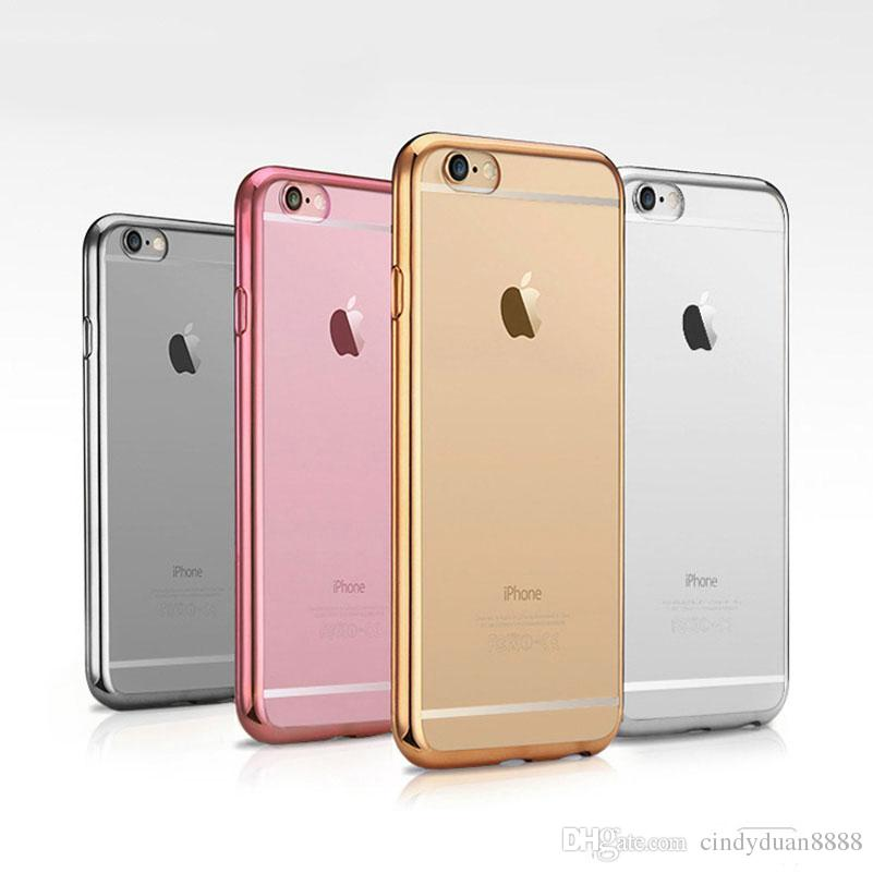 for iphone 5 5s case royal luxury style plating gilded tpu soft back
