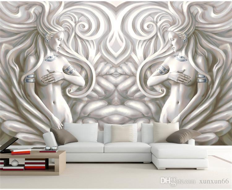Acheter 3d Europeenne Sculpture Photo Murales Papier Peint Pour