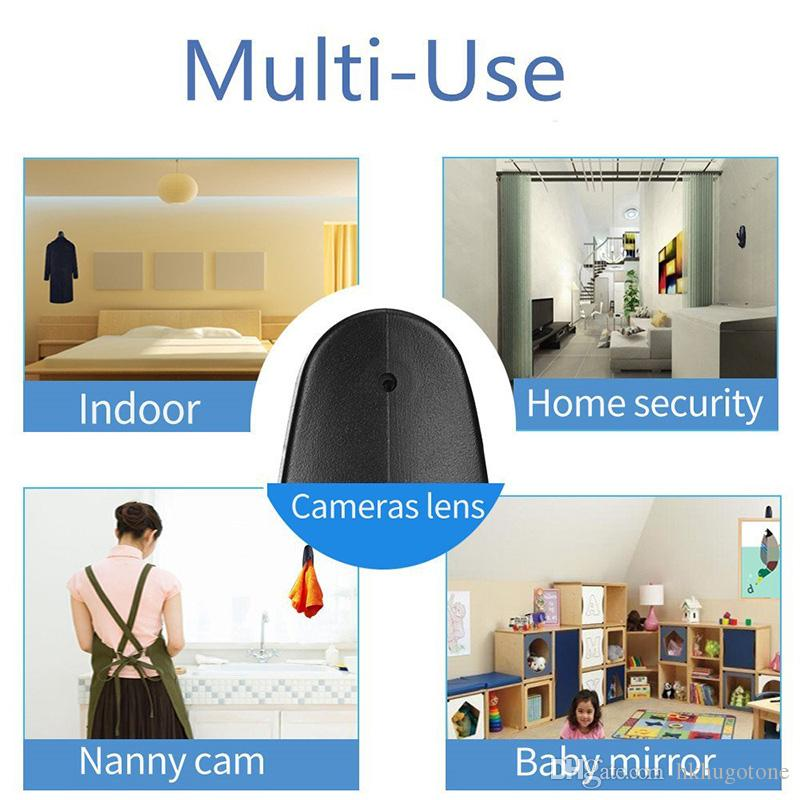 HD 1080P Clothes Hook Camera Surveillance Covert Security Home Recorder Mini Camera DVR Clothes Hanger Camera
