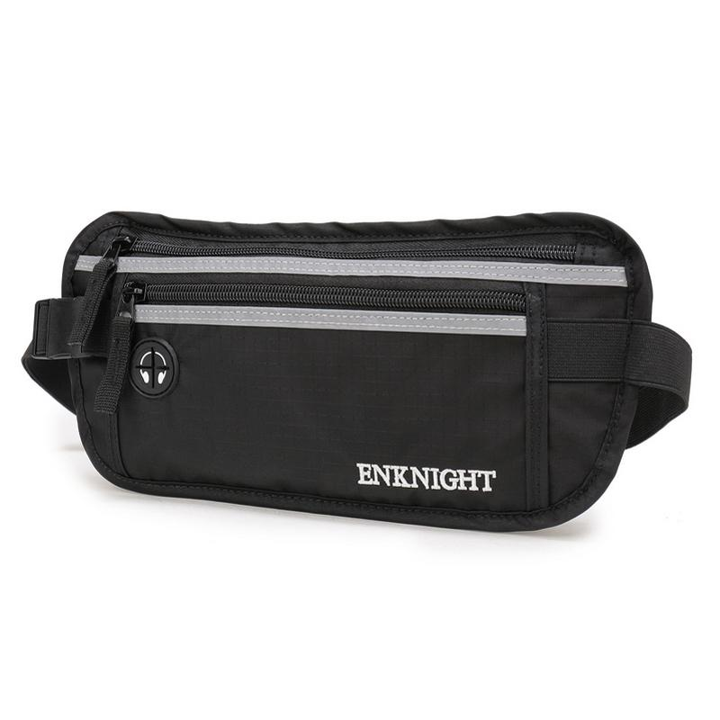 f9b370fcc5 Enknight Big Rfid Money Belt For Travel Waist Pack Fanny Pack Card Anti  Theft Pack Belt Bag Casual Waist Bag Backpacking Backpacks Black Bags From  Xinjiamei ...