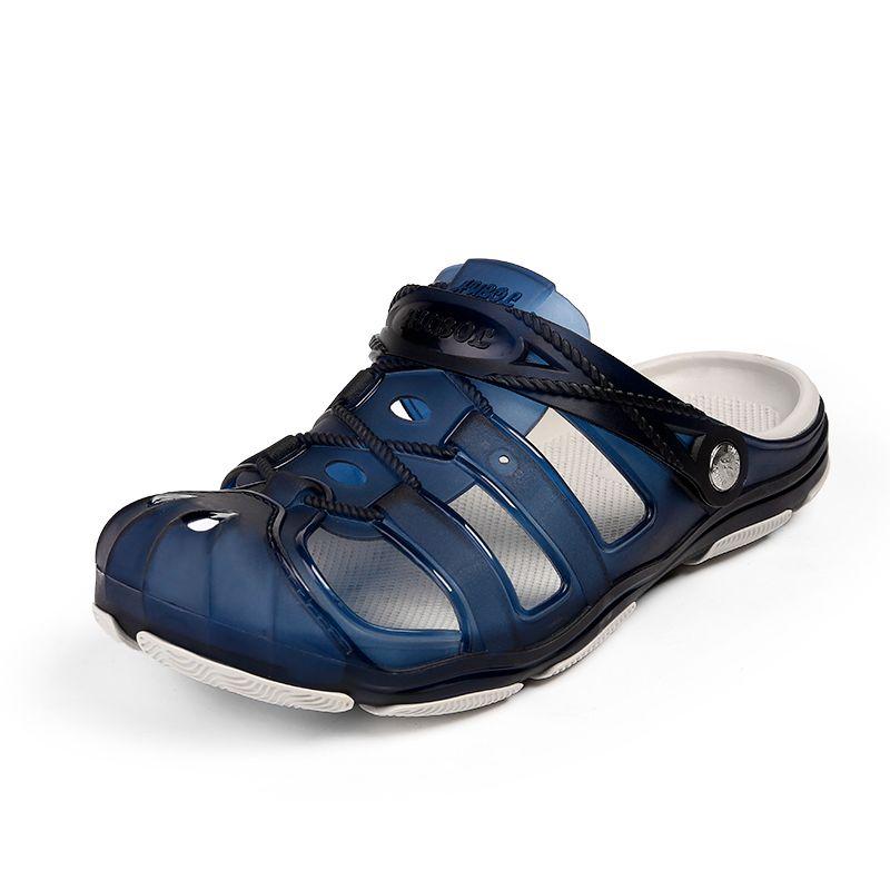 e97502b4452 Satın Al Yaz Açık Plaj Ayakkabıları Mens Hızlı Kuru Sandalet Hafif Erkekler  Için Nefes Su Ayakkabı Ücretsiz Kargo ZS2203