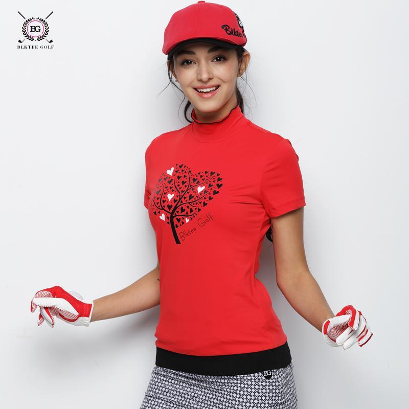 5d57a5944a1d5f 2019 2018 Hot Sales BG Golf Women S Short Sleeved T Shirt Ladies Summer  Repair Korean Version Anti Pilling Golf POLO Shirts From Qingbale