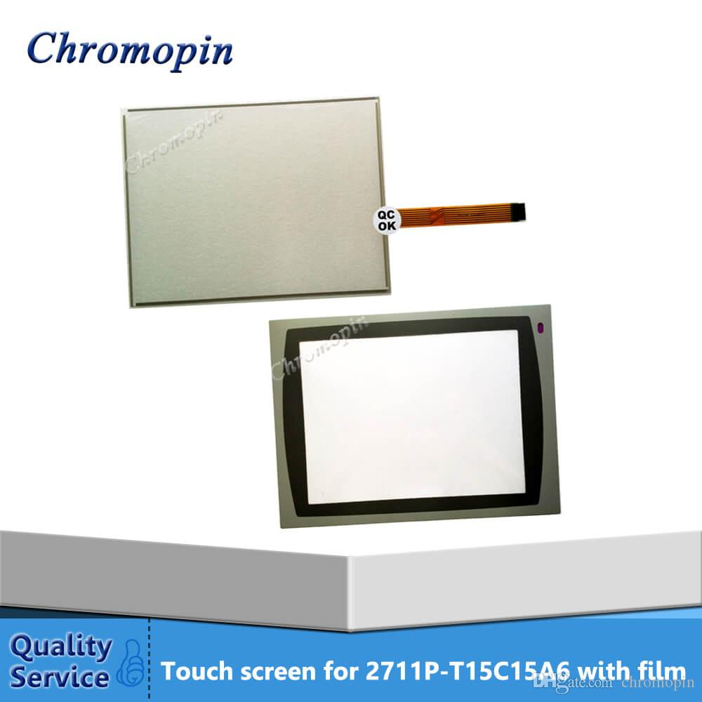PanelView Plus 1500 2711P-T15C15B1 2711P-T15C15B2 2711P-T15C15D1  2711P-T15C15D2 New HMI PLC touch screen panel touchscreen And Front label