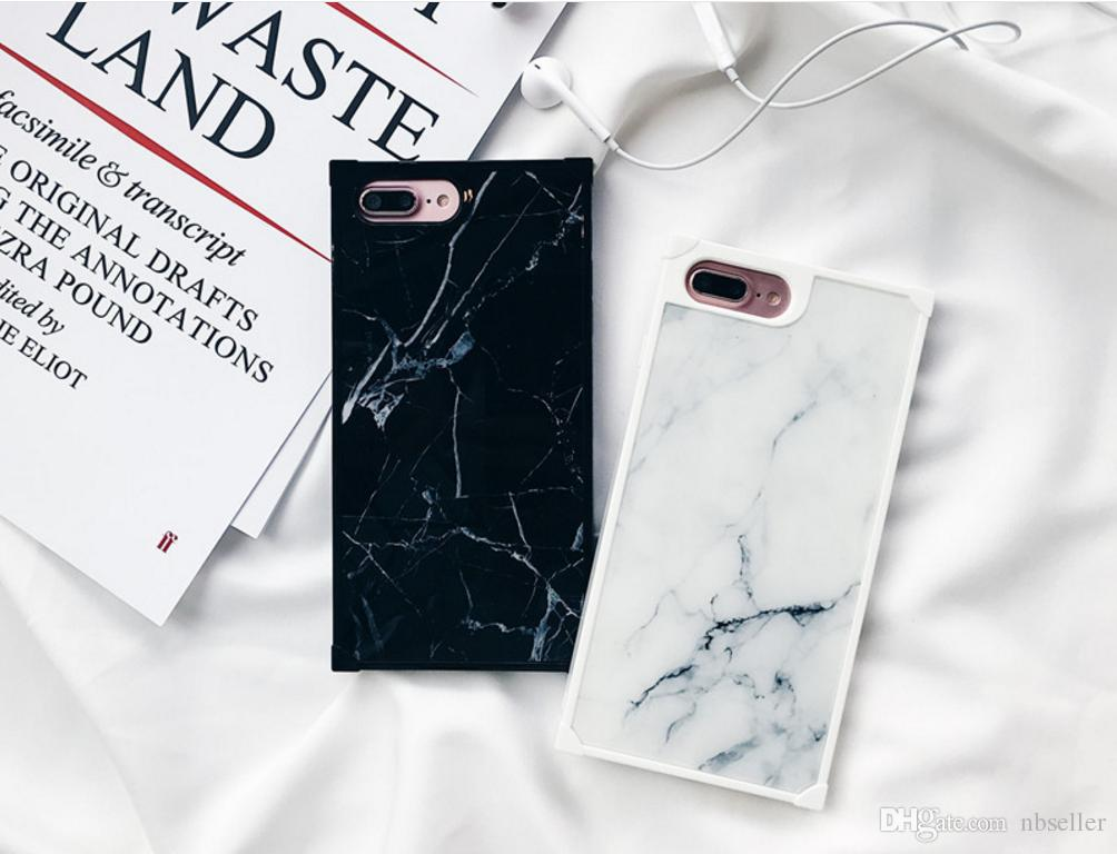 Luxury Tpu Marble Paris Fashion Show Box Phone Case Hybrid Back Case