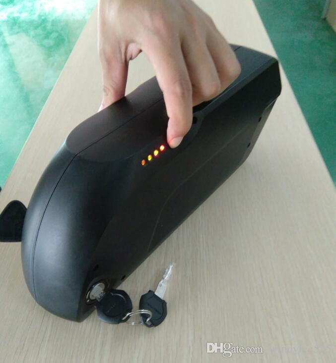 48V 17.5 Ah NCR18650PF 13S5P tiger shark перезаряжаемый литий-ионный электрический велосипедный аккумулятор с защитой BMS с образцом запаса в Китае
