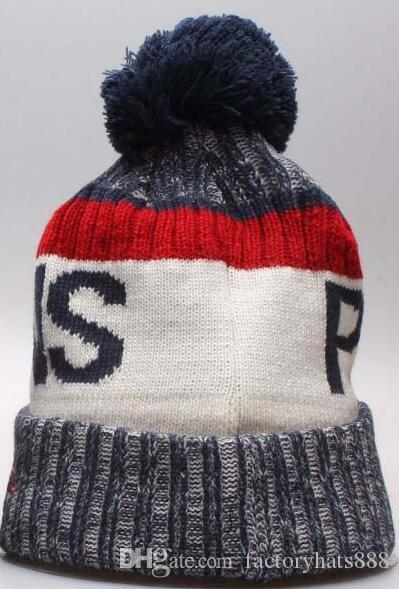 Autumn Winter Hat Sports Hats Custom Knitted Cap With Team Logo Sideline  Cold Weather Knit Hat Soft Warm Pelicans Beanie NOP Skull Cap Cute Beanies  Red ... b757de5a70c