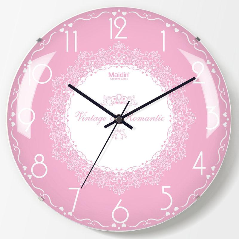 Simple Modern Design Silent Wall Clock Living Room Big Timepiece ...
