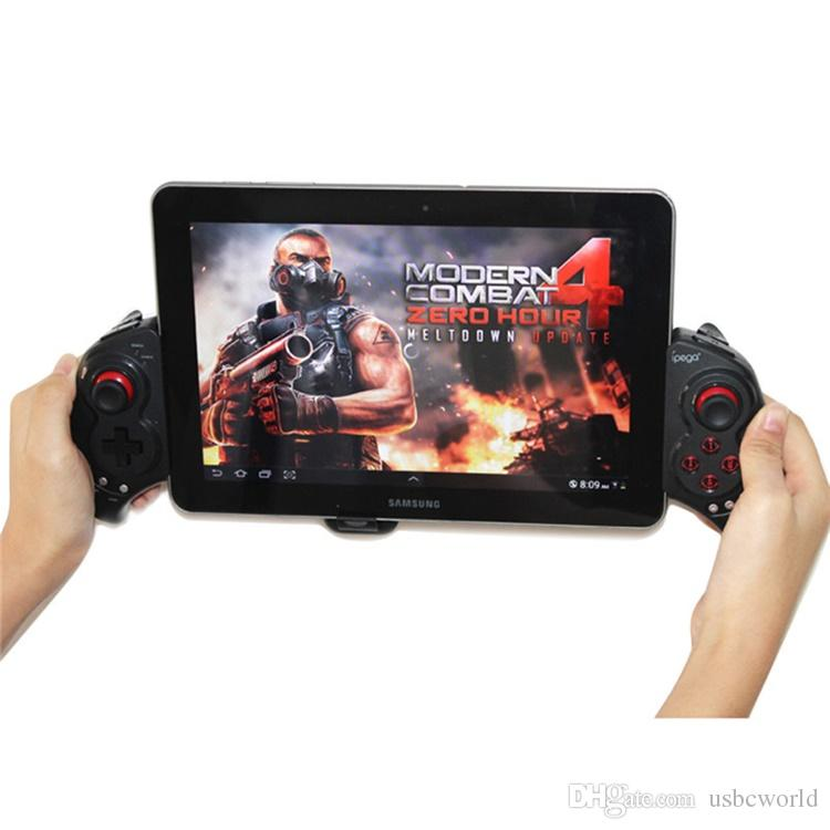 High Quality Wireless Bluetooth Game Joystick For Mobile Tablets Computer Mutli-function Wireless Gampad With Retractable Holder