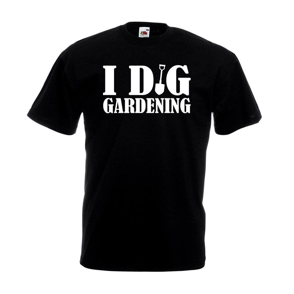 I Dig Gardening T Shirt Funny Birthday Gift Top Gardener Dad Husband For Him A Shirts Fun Online From Yg07tshirt 1205