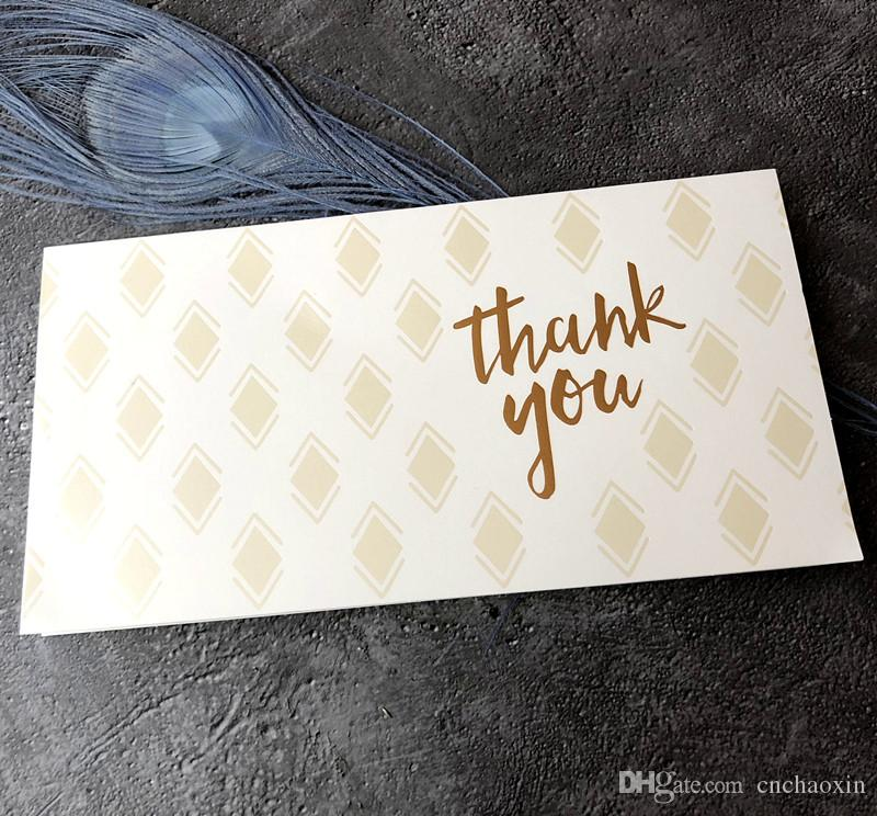 Thank You Greeting Card With Envelope For For Birthday Christmas