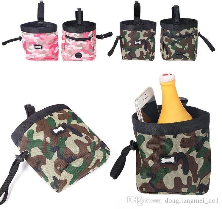 pet Dog cat Treat Pouch for Training lleva golosinas y juguetes Food Poop Bag Dispenser wn011