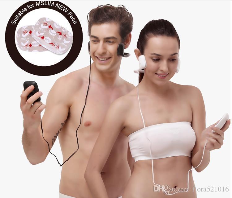 Cojín respetuoso del medio ambiente del gel de cara Reemplace los electrodos autoadhesivos de las almohadillas unisex para el dispositivo del massager de la cara