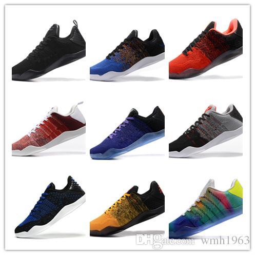 ae327c056cce 2019 New Top Kobe 11 Basketball Shoes Mens Kobe 11 Gold Championship ...