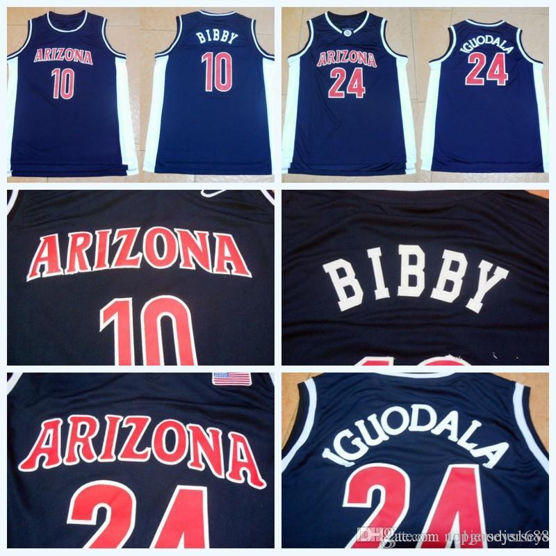 ... coupon code 2018 high quality arizona wildcats 24 andre iguodala jersey  navy blue mens university stitched a7303a1df
