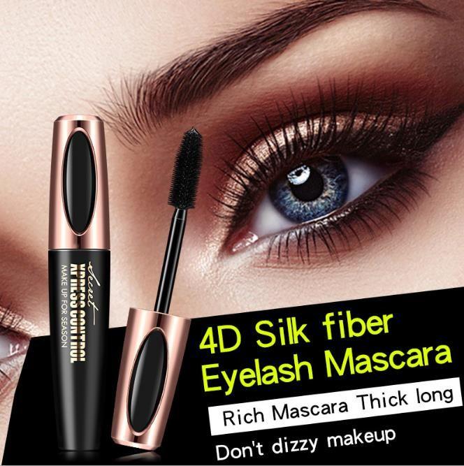 4ce59922e2f 2018 Hot New 4D Silk Fiber Lash Mascara Waterproof Rimel 3d Mascara For Eyelash  Extension Black Thick Lengthening Eye Lashes Cosmetics Makeup Palette Cheap  ...