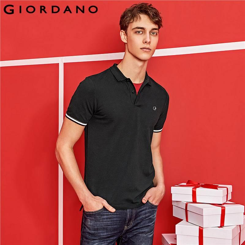 5bdbbd84 2019 Giordano Men Polo Shirt Short Sleeve Polo Men Summer Tops For Men  Camisa Polo Masculina Brand Tee Shirt Male From Netecool, $85.28 |  DHgate.Com
