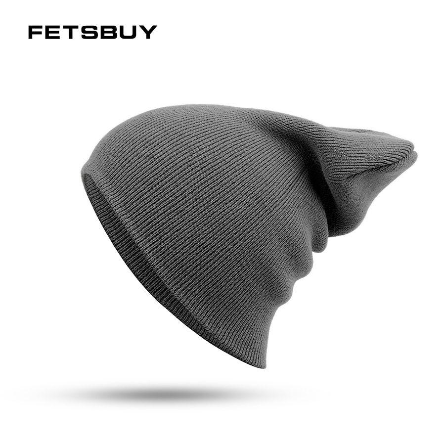f3d958694ec5f 2019 FETSBUY 2018 Fashion Hedging Cap Men Women Knitting Caps Thin Breathable  Hat Bonnet Winter Beanies Spring Solid Color Cotton From Kuaigoubian