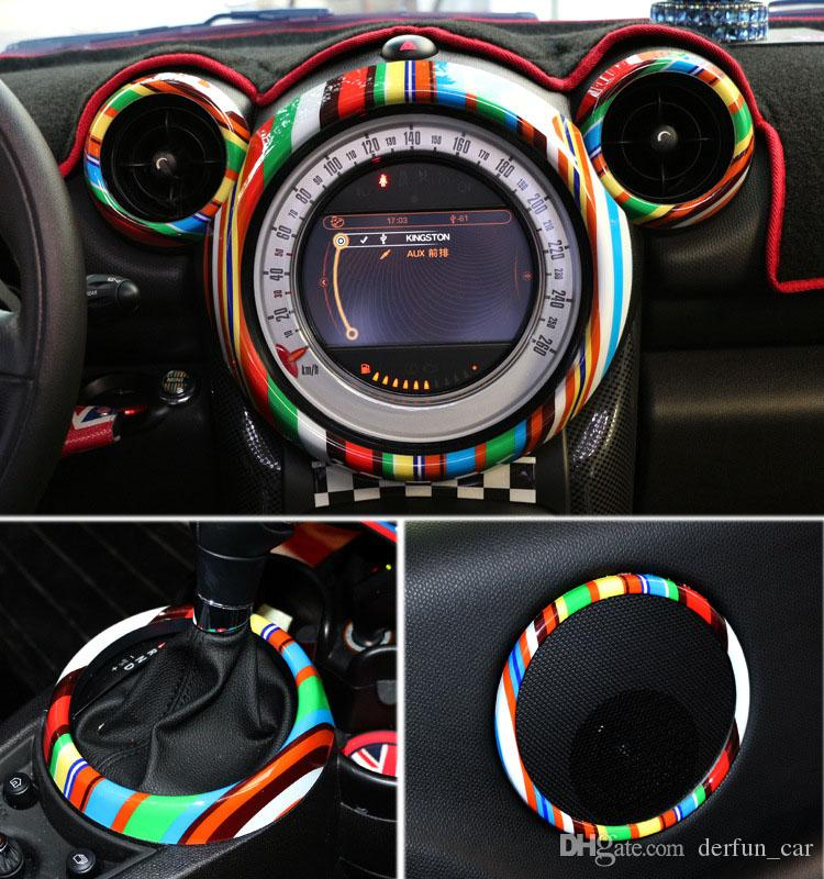 Set 03 16 Year Mini Countryman R60 Stickers Abs Interior Accessories For Bmw Mini Cooper Car