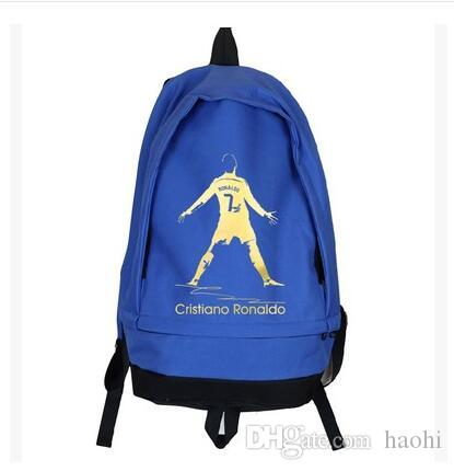 اللون كريستيانو رونالدو العلامة التجارية حقيبة الظهر لاعب كرة القدم حقيبة مدرسية حزمة يوم لكرة القدم جودة حقيبة الظهر الرياضة المدرسية 7 daypack حقيبة الكمبيوتر