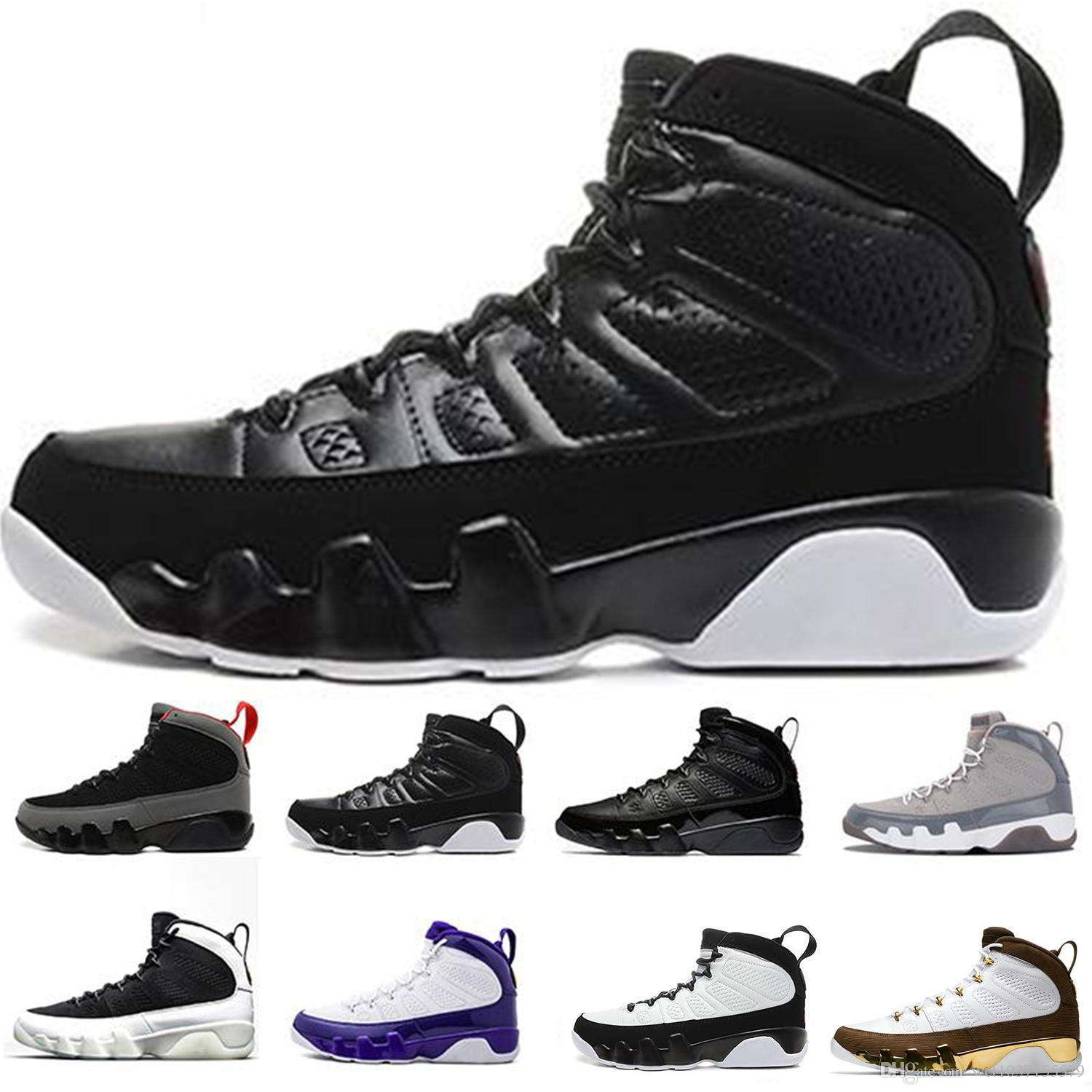 c7c245e768e47a 9 9s Men Basketball Shoes LA Bred OG Space Jam Tour Yellow PE Anthracite  The Spirit Johnny Kilroy Sports Trainers Sneakers Basketball Shoes For  Women Cool ...