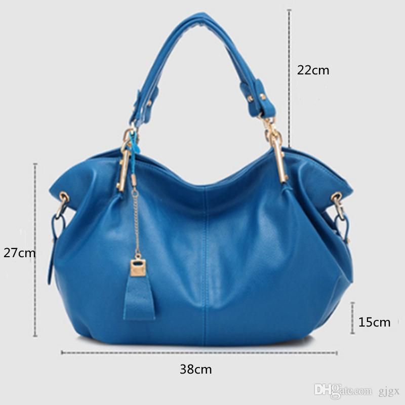 Four Seasons Universal New Girls Korean Fashion Women's Fashion Casual Soft Leather Hand Ladies Shoulder Messenger Bag