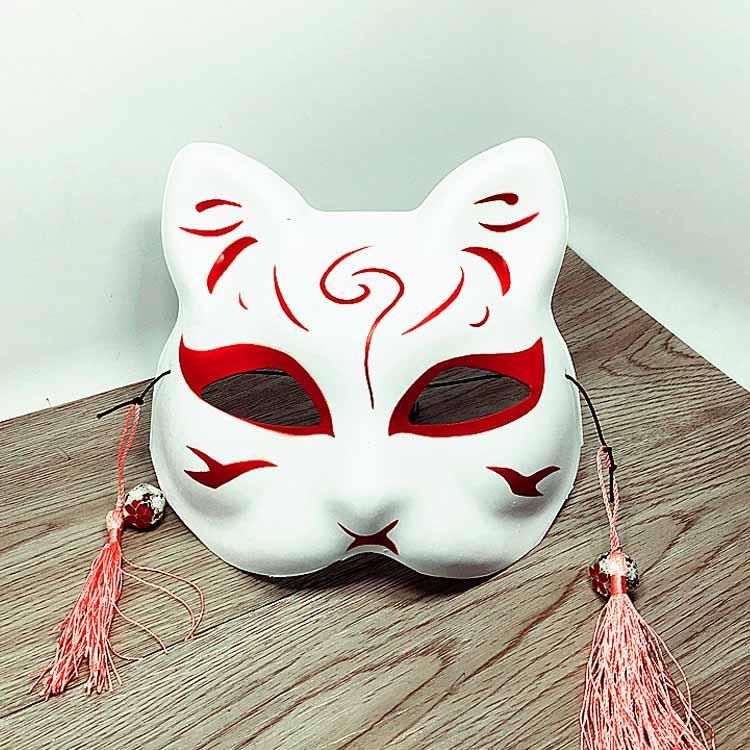 Maschere sexy del partito delle donne Maschera mascherata del gatto veneziano Costume cosplay Maschera fai da te Maschera di volpe faccia gatto di alta qualità