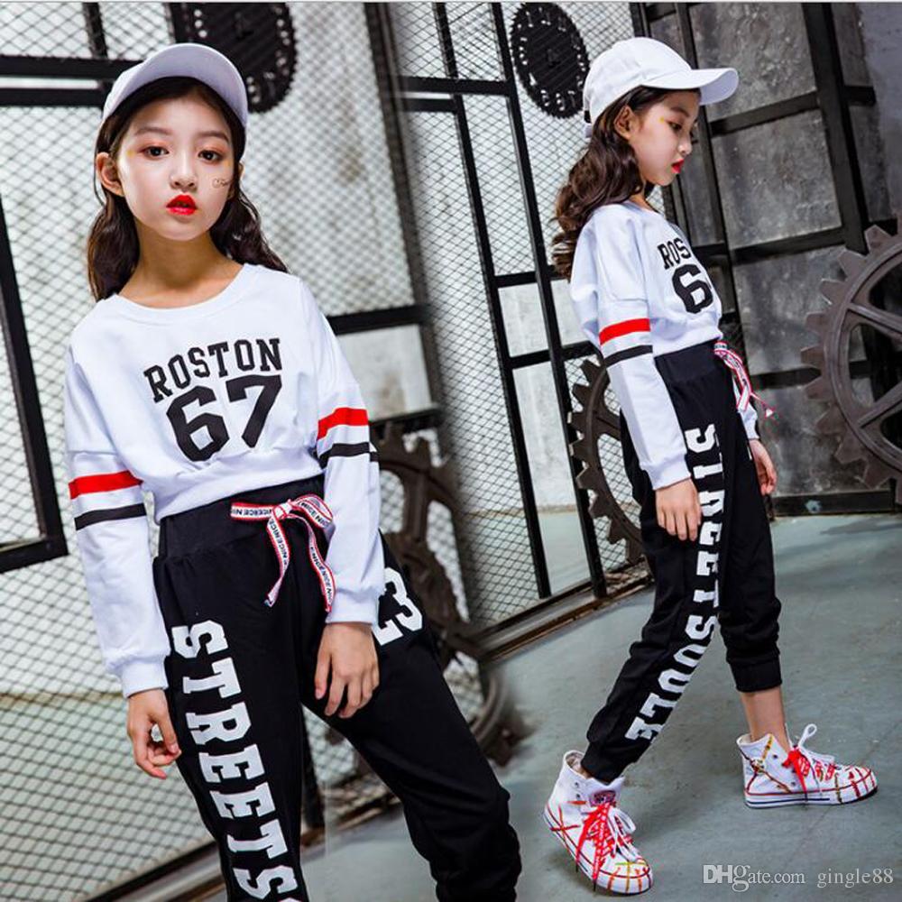 c0e2239fe 2019 Girls Cool Cotton Ballroom Jazz Hip Hop Dance Competition ...