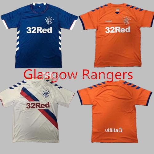 519b7e7c0e7 2019 Top Quality Rangers Soccer Jersey Top Thai Quality 2018 2019 Orange Glasgow  Rangers Soccer Jersey Quality Casual Soccer Shirt From Soccer fans