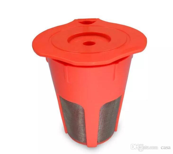 800 Unids K-Cup K-Carafe Cápsula Reutilizable Reutilizable de Filtro de Café Para Máquinas Keurig Té de Café Herramientas de Té de Café